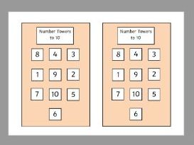 Number Block Towers (to 10, 15, 20)