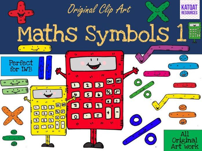 Maths Symbols Clip Art