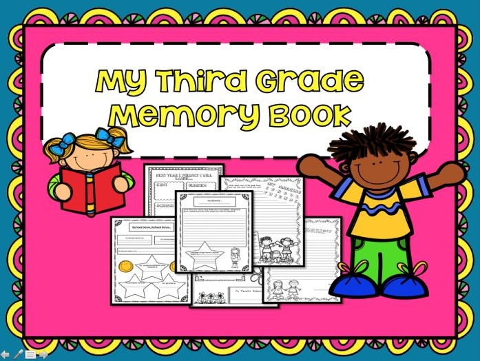 End of the Year Memory Book Grades 3-4