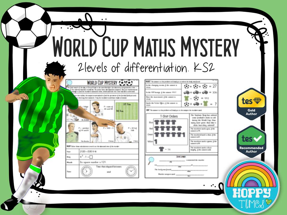 Football /WORLD CUP Maths Murder Mystery