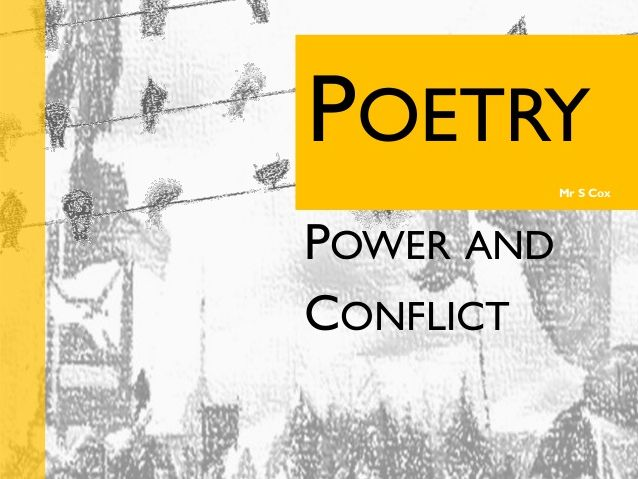 AQA Poetry Anthology - Power & Conflict Quiz/ Test