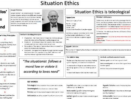 Situation Ethics AQA A2