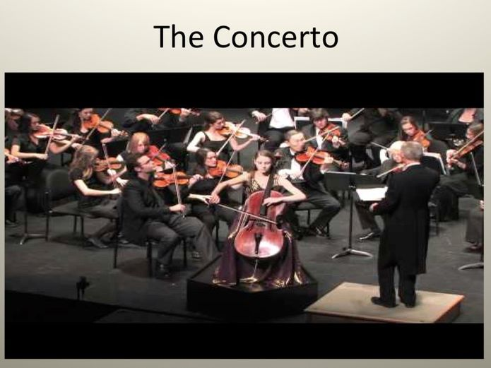 Concerto lessons GCSE Music 9 - 1