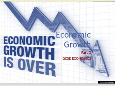 Economic Growth - Part 3