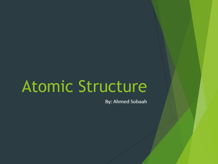 Unit 3_Atomic Structure