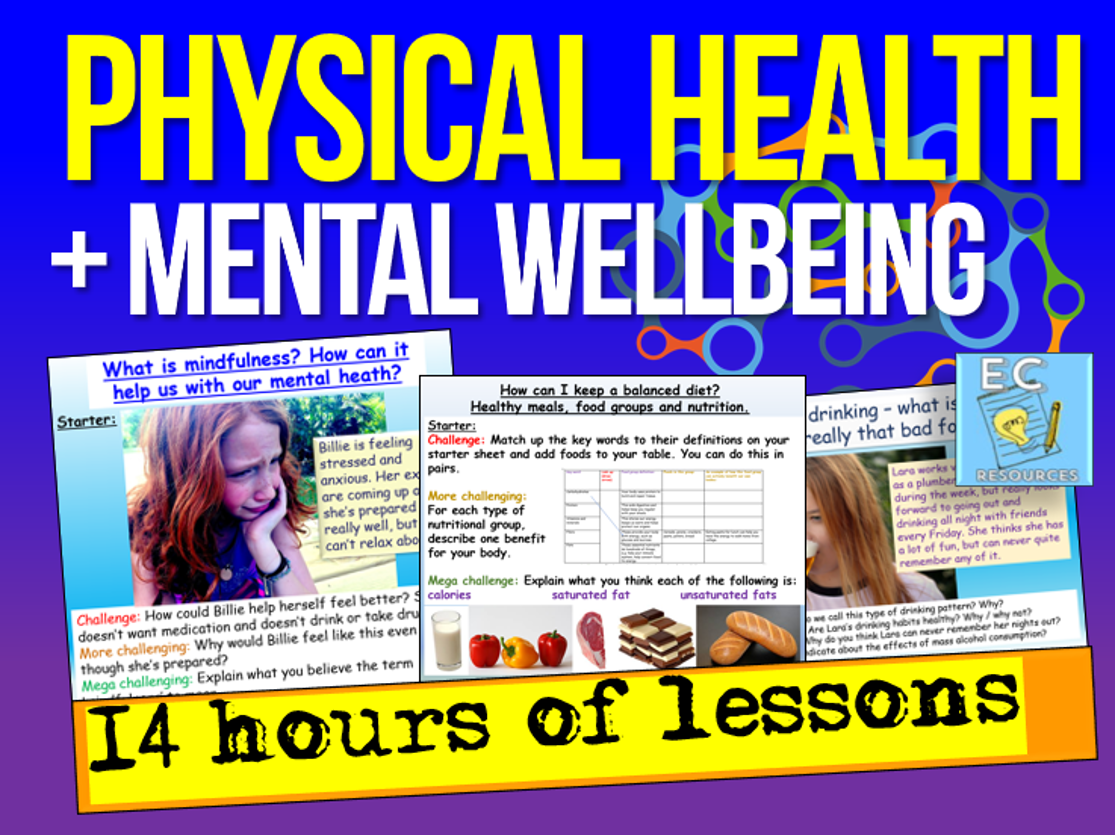 Physical  Health, Stress, Mental Wellbeing