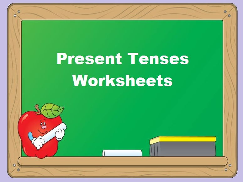 Present Tenses Worksheets (x12) - Grammar Revision - SAVE 85%
