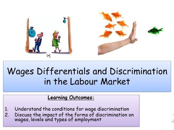 Wage differentials and discrimination