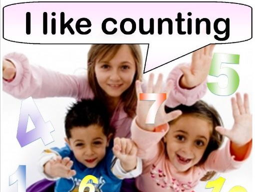 I Like Counting (Rhyming Picture Book)