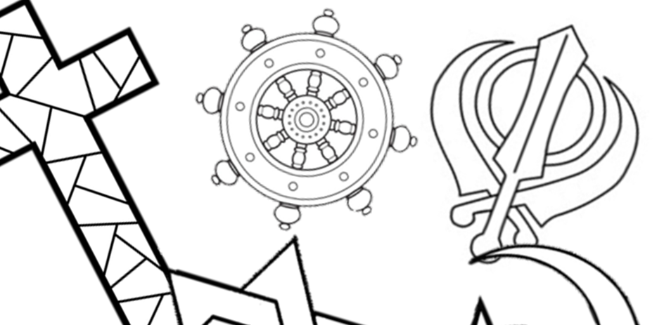 RE - symbol colouring sheets