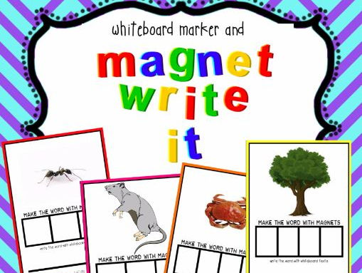 Jolly Phonics Aligned - Magnet Write It!