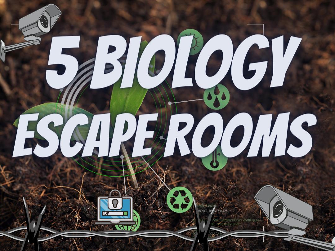 Biology Escape Rooms End of term