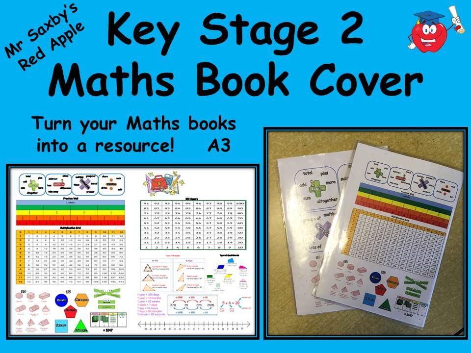 Key Stage 2 Maths Book Cover