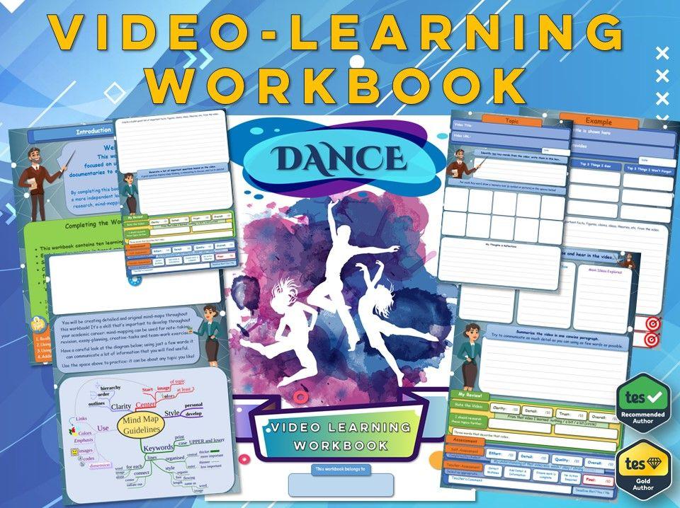 GCSE Dance - Workbook [Video-Learning Workbook] GCSE Dance