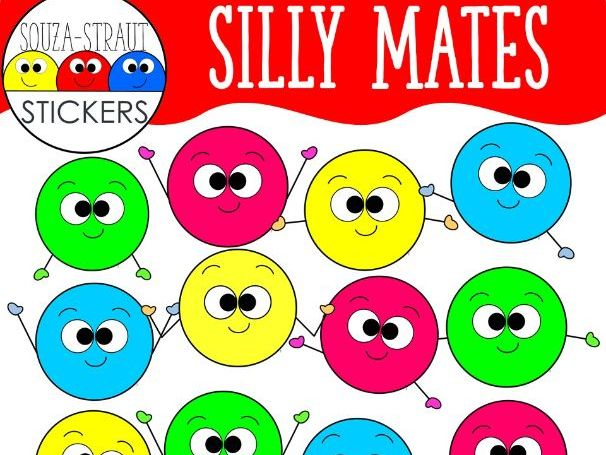 Silly Mates Clip Arts