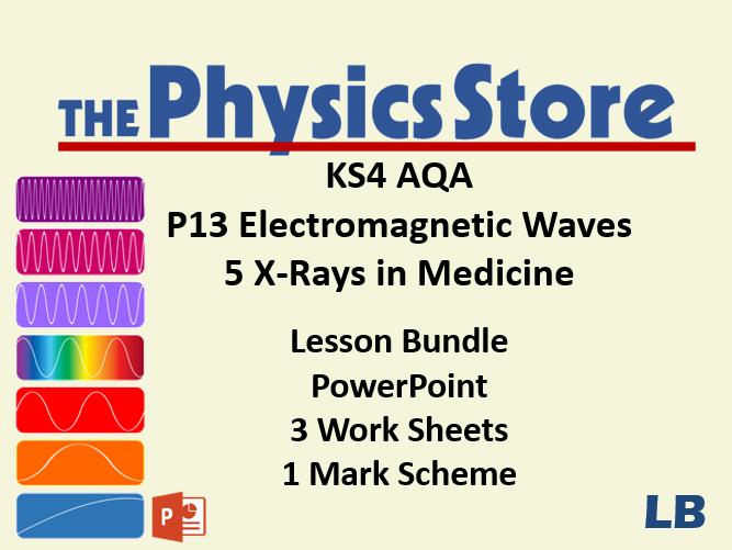 KS4 Physics AQA P13 1 The Electromagnetic Spectrum Lesson Bundle