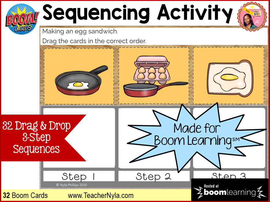 Sequence Activity Boom Cards™