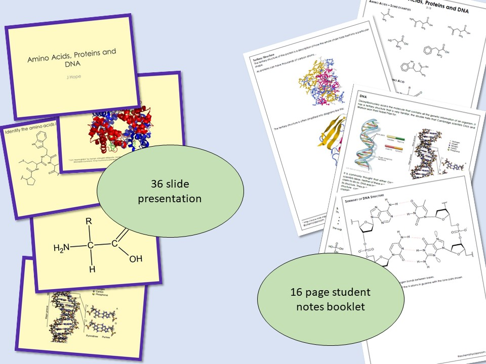 Amino acids, proteins and DNA (AQA A-level - 3.3.13)