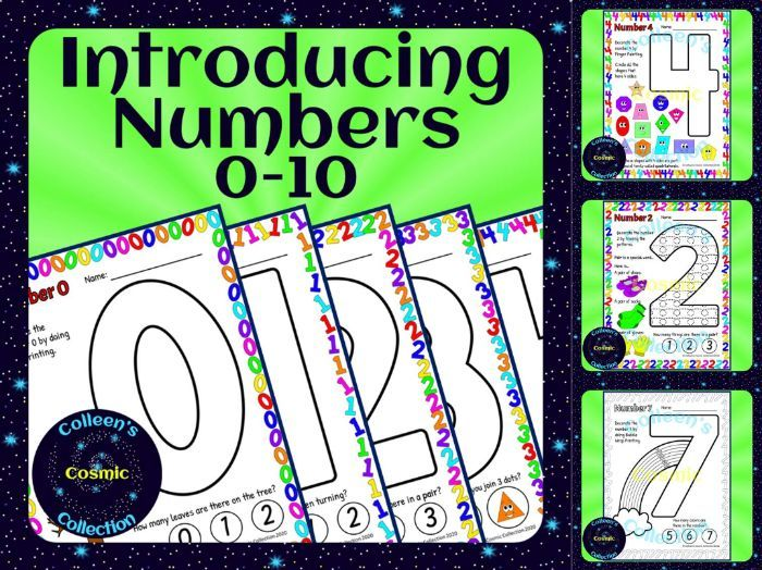 Introducing Numbers 0-10