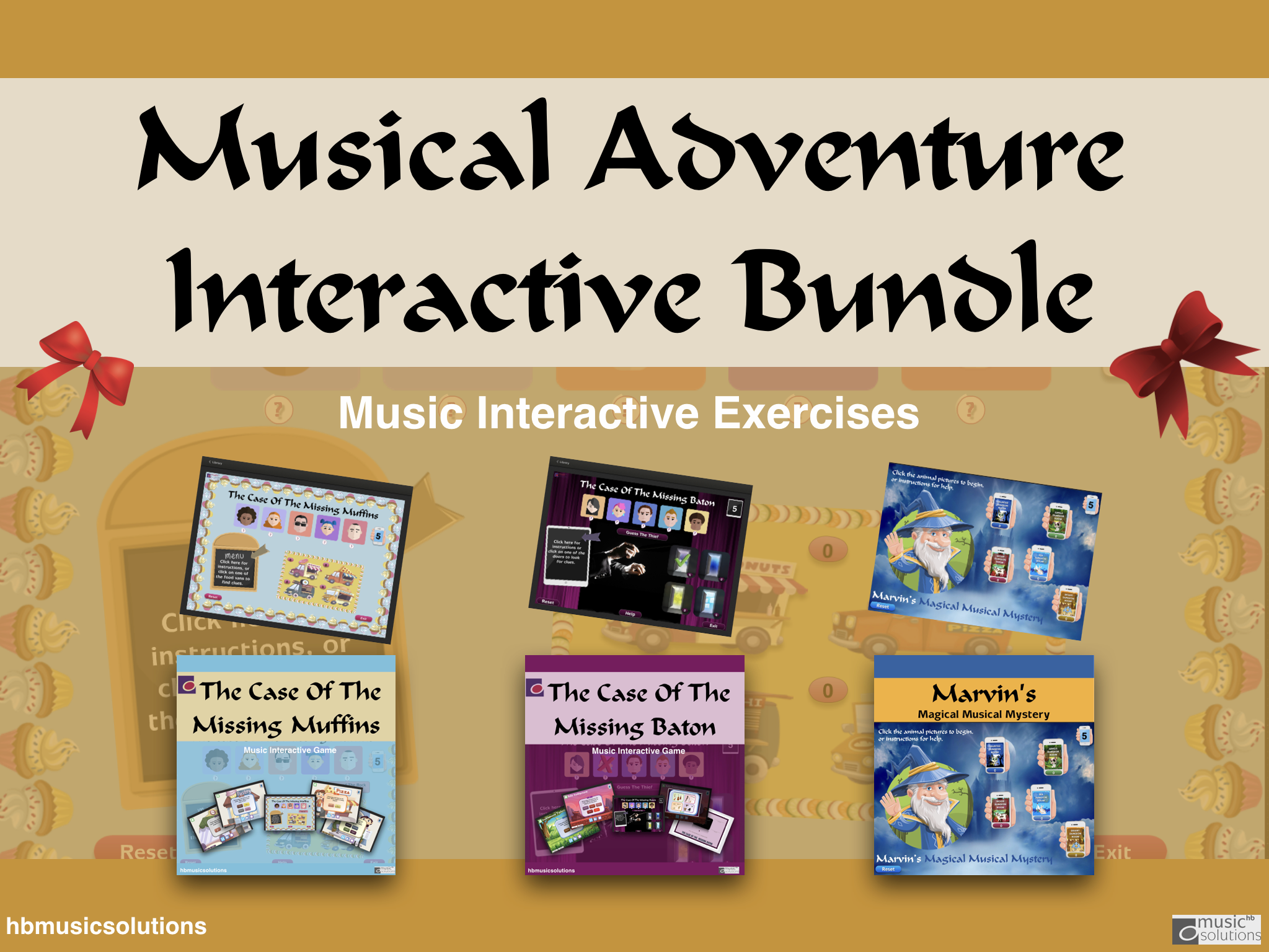 Musical Adventure Interactive Games Bundle