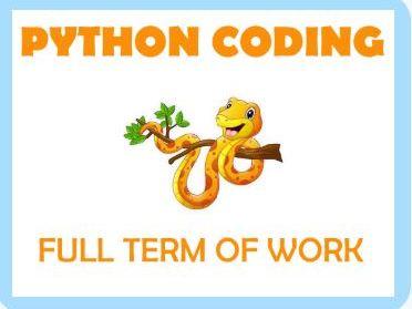Python Coding - Full Term of Work + Exam (Coronavirus Relief Pack)