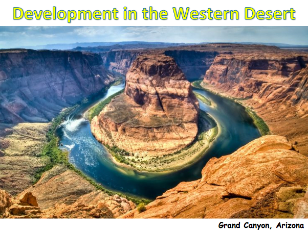 KS3 Deserts - Development in the Western Desert
