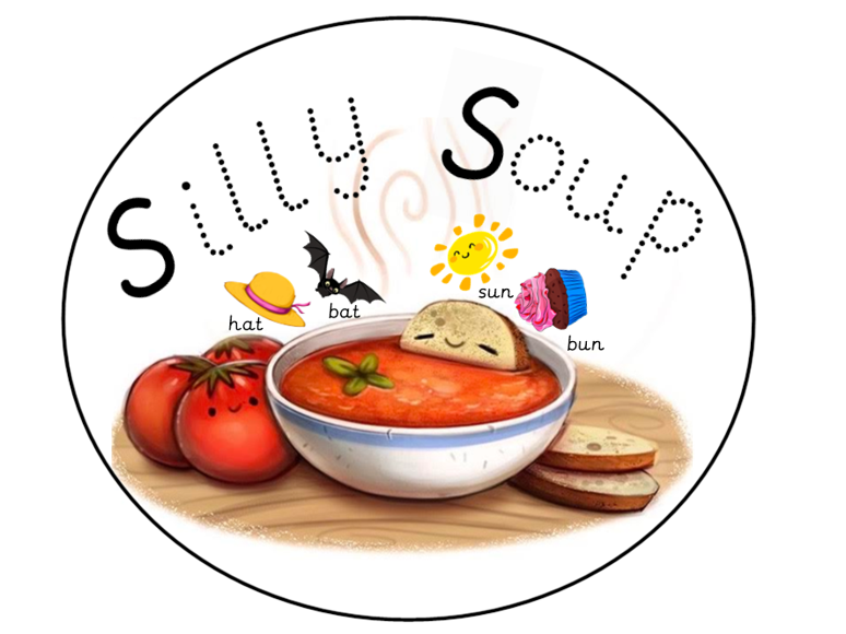 Phase 1 Silly Soup Rhyming Activity