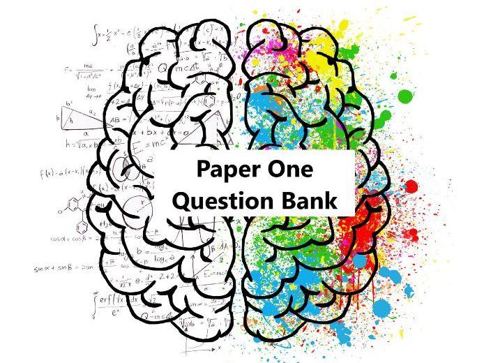 Psychology A level Paper 1 Question Bank