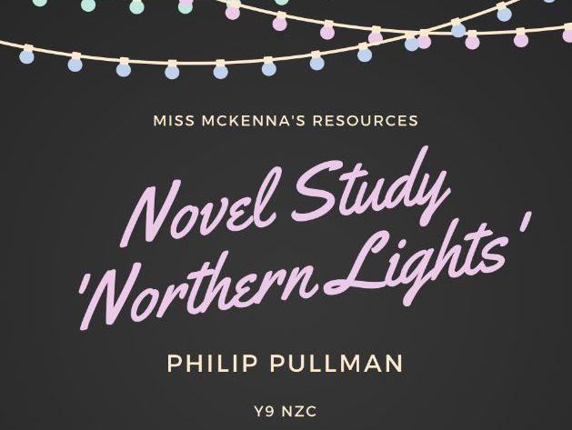 Novel Study 'Northern Lights'
