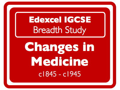 Edexcel IGCSE History: Changes in Medicine 1845 - 1945