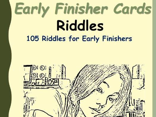 Early Finisher Cards Riddles