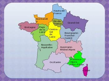 Géographie de la France Geography of France PowerPoint