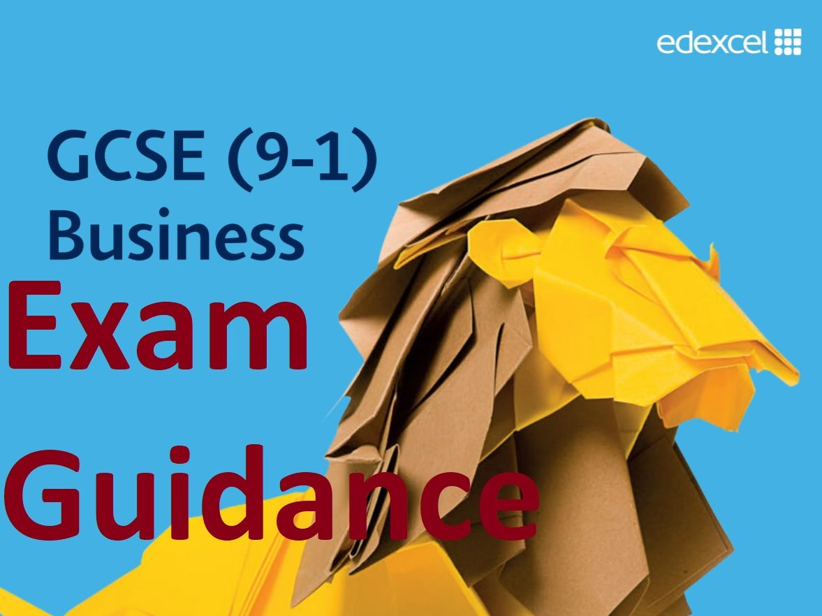 Exam Technique - Edexcel GCSE Business