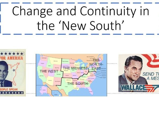 The New South in American 1980