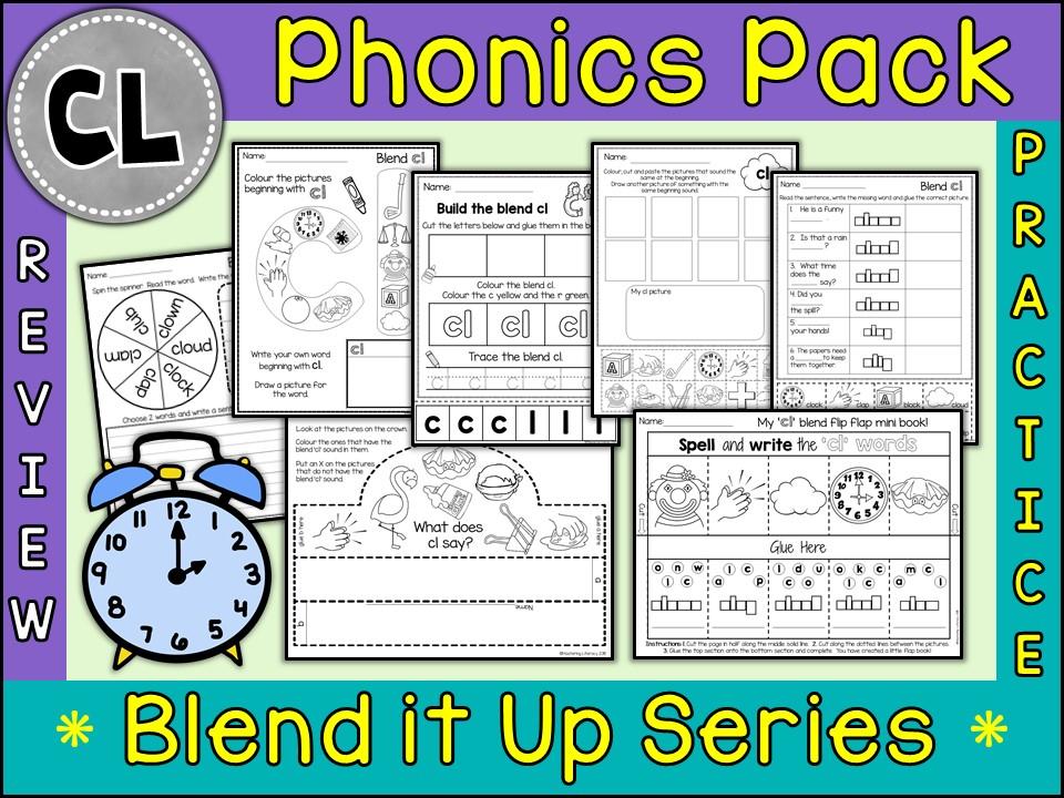 Phonics: Phonics Blend CL