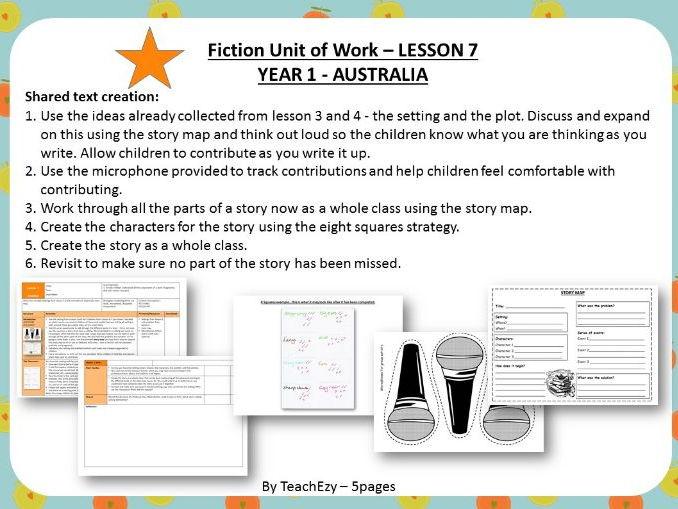 LESSON 7 Shared Text Creation - Fiction Year 1 Australian Curriculum