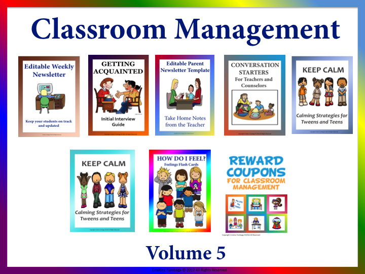Classroom Management  Volume 5