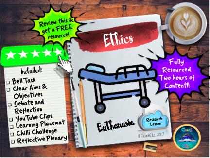Euthanasia : Sanctity of Life - Euthanasia