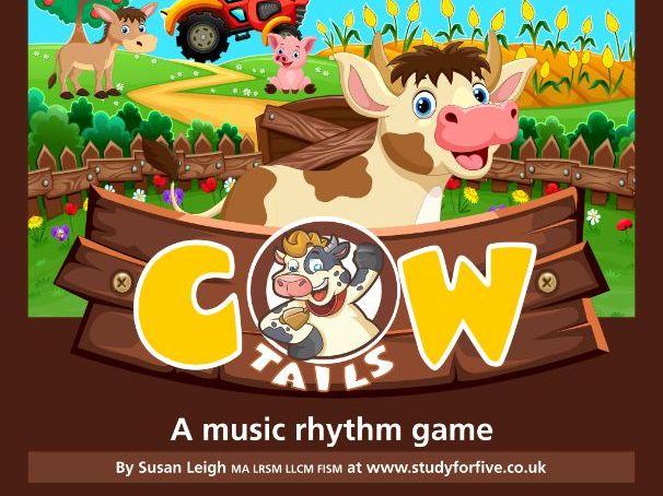 Cow Tails: a music rhythm game