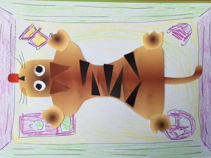 The Tiger-Skin Rug Make-Your-Own Tiger-Skin Rug Kit - Excellent Reading Café Activity