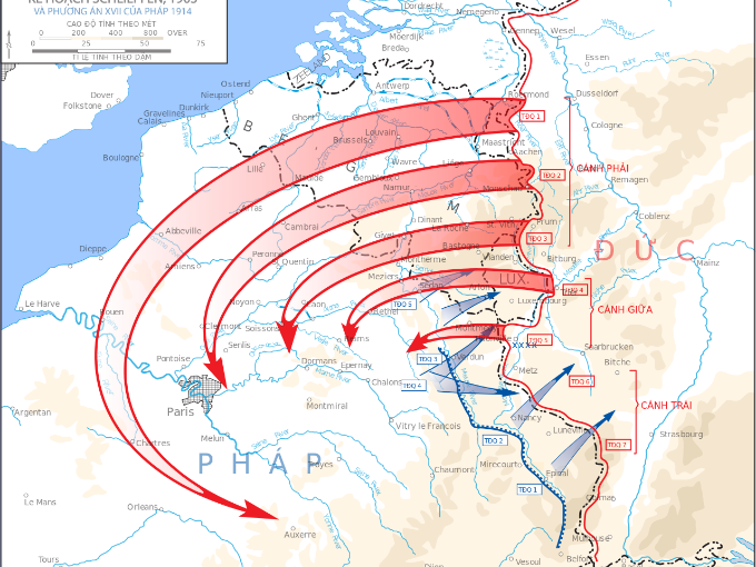 Year 9 History Lesson - The Schlieffen Plan