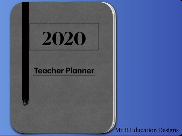 2020 Australian Digital Teacher Planner GoodNotes