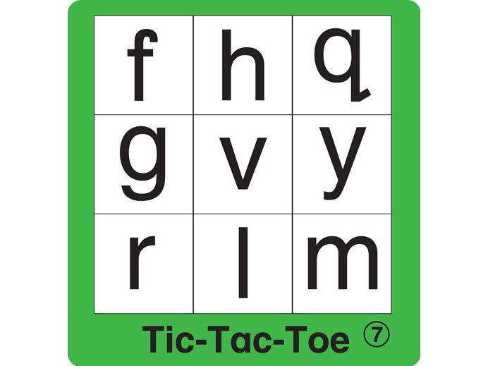 ESL Games - ABC Tic-Tac-Toe 2