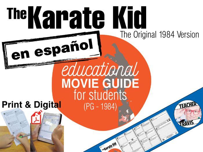 The Karate Kid Guía de película en Español (Spanish Movie Guide)