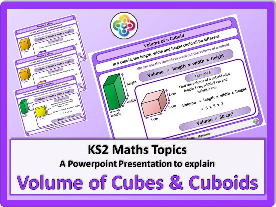 Volume of Cubes and Cuboids KS2