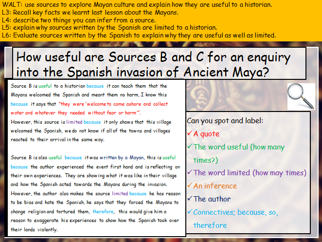 Source utility (What is history? (KS3))