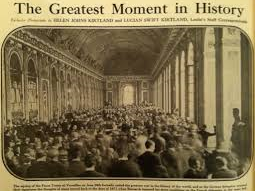 What were the terms of the Treaty of Versailles?