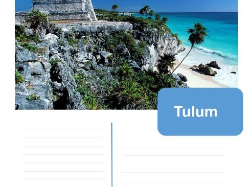 Lonely planet guide to Tulum - Mayan topic display work