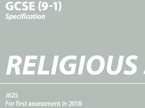 OCR GCSE (9-1) Religious Studies Christianity