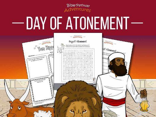 Day of Atonement (Yom Kippur) Activity Book